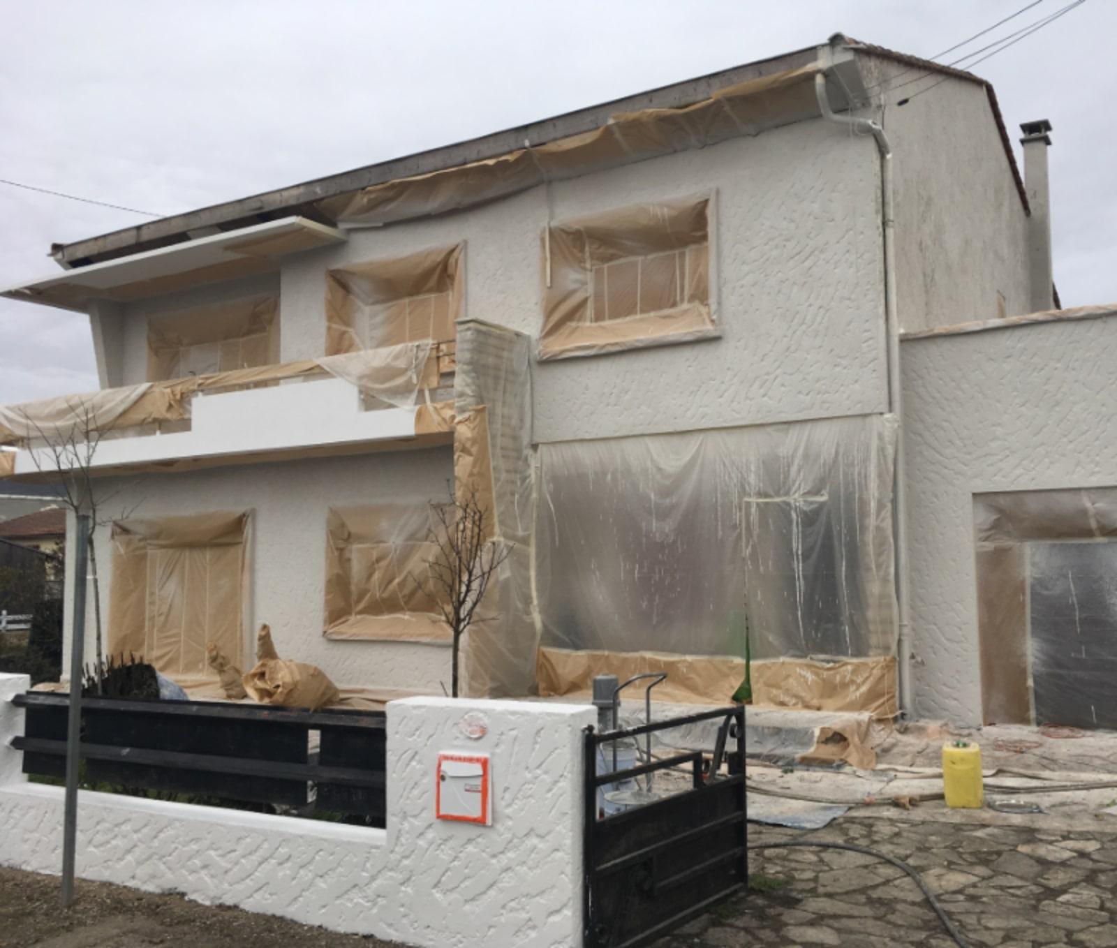 Protection des chantiers de rénovation de façade
