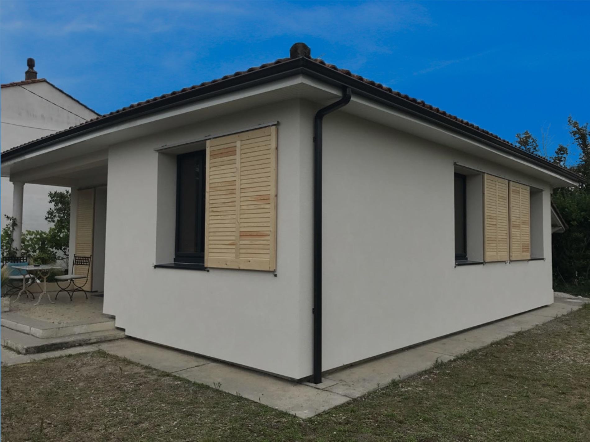 Photo maison après Chantier Isolation thermique extérieure à Mérignac