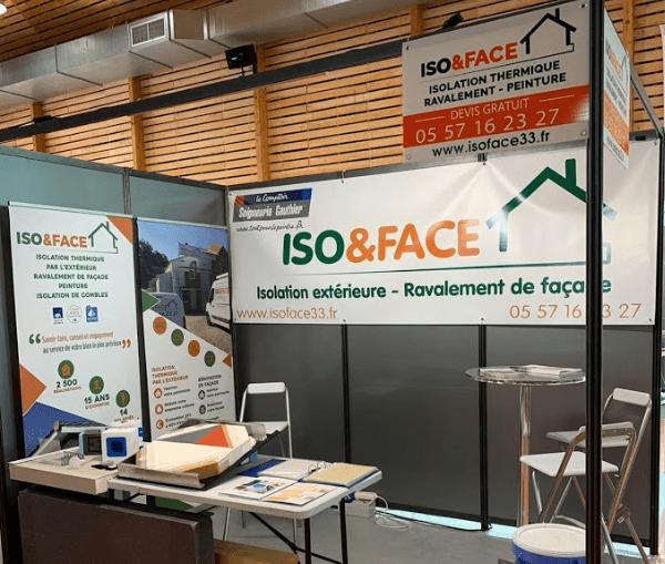 Miniature stand ISO&FACE salon de l'habitat et de la décoration